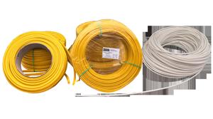 tubitos aislantes de fibra de vidrio para alta temperatura